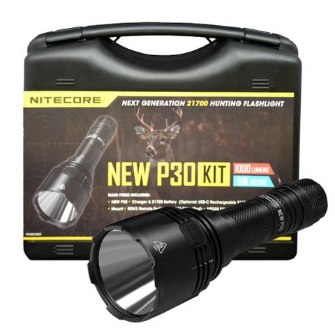 NITECORE NEW P30 Precise Series 1000 Lumen Long Throw Hunting Kit