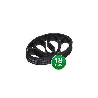 Oreck XL Upright Vacuum Belts, Part #030-0604 & XL010-0604 (6 Pack)