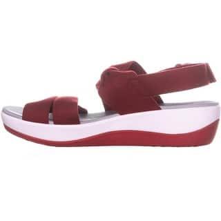 36224ab2ee29 Buy Red Clarks Women s Sandals Online at Overstock