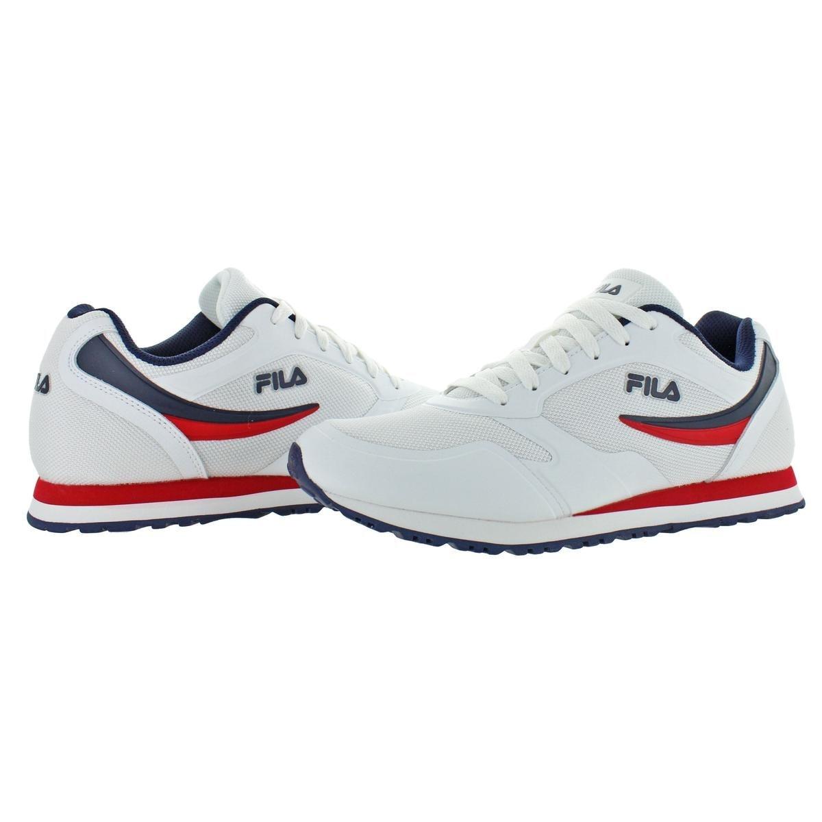 Fila Mens Running Shoes Breathable Mesh