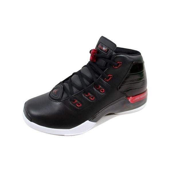 8ffd36156f63 Shop Nike Men s Air Jordan 17+ Retro Black Gym Red-White Chicago ...