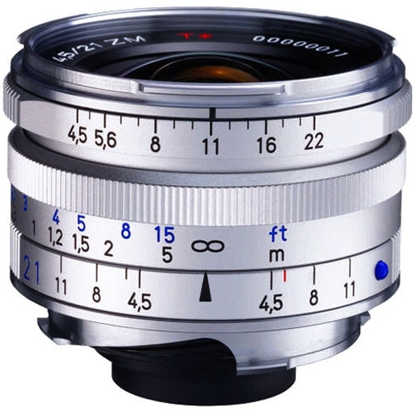 ZEISS C Biogon T 21mm f/4 5 ZM Lens (Silver)