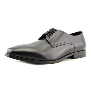 Boss Hugo Boss Highline Derby Men  Round Toe Leather Black Oxford