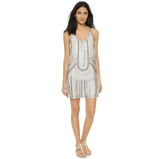 Parker Ramsey Embellished Sleeveless Racerback Cocktail Dress - XS
