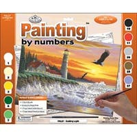 """Guiding Light - Paint By Number Kit 15.375""""X11.25"""""""