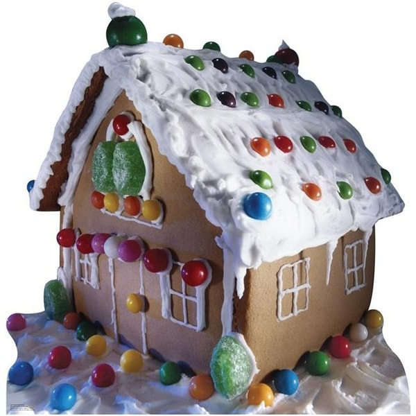 Advanced Graphics 942 Ginger Bread House Life-Size Cardboard Stand-Up