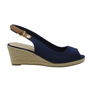 Tommy Hilfiger Womens nhalia2 Fabric Peep Toe Casual Espadrille Sandals