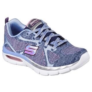 Skechers 81708L NVPW Girl's AIR APPEAL - BREEZY BLISS Sneaker