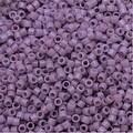 Miyuki Duracoat Delica, Japanese 11/0 Seed Beads, 7.2g Tube, Opaque Crocus Purple DB2136 - Thumbnail 0