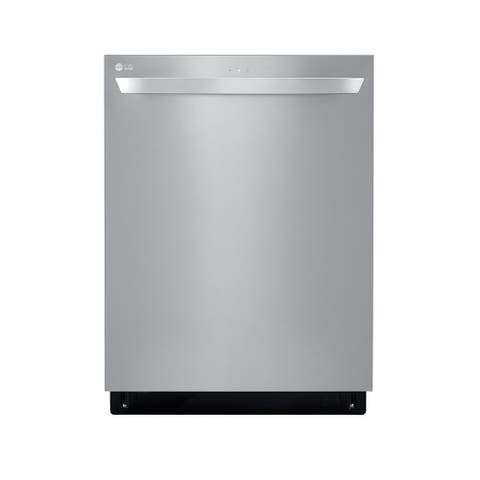 LG LDT5678SS Top Control with Towel Bar, 46 dB, Smart Wi-Fi, QuadWash, Dynamic Dry, 3rd Rack, PrintProof Stainless Steel