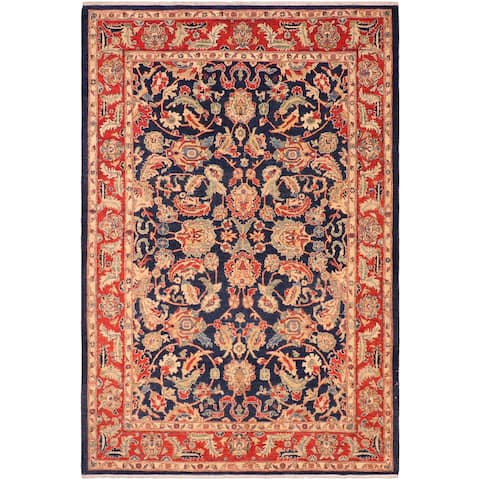 """Boho Chic Ziegler Paris Hand Knotted Area Rug -6'0"""" x 8'10"""" - 6 ft. 0 in. X 8 ft. 10 in."""