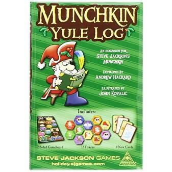 Munchkin Yule Log Card Game