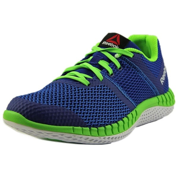 Reebok Zprint Run Youth Round Toe Synthetic Blue Running Shoe