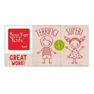 Hero Kids Stamp Set - One Size