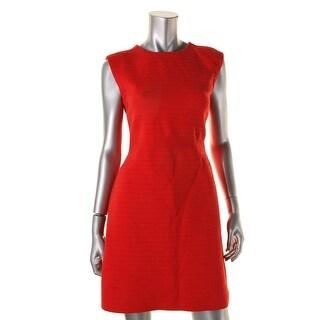 Tory Burch Womens Textured Sleeveless Cocktail Dress - XS