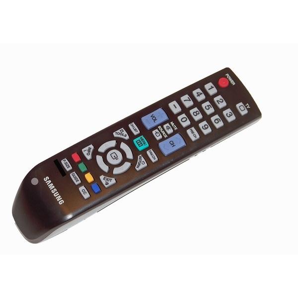 OEM Samsung Remote Control: LN26B350F1XUG, LN26B350F1XZD, LN26B350F1XZL, LN26B350F1XZP, LN26B350F1XZS, LN26B450
