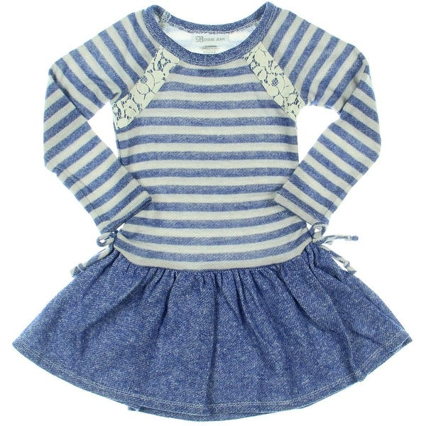 Bonnie Jean Sweaterdress Striped Long Sleeves - 4t