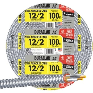 Southwire 100 12/2 Stl Armr Cable