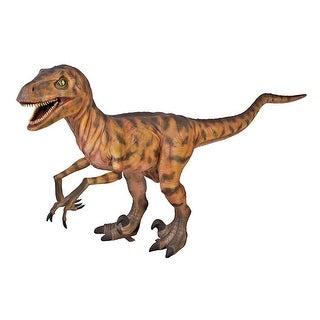 Design Toscano Jurassic-Sized Deinonychus Dinosaur Statue