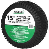 """Arnold Corp. 15"""" Lawn Tractor Wheel 490-325-0012 Unit: EACH"""