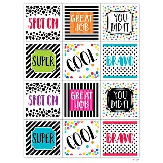 Bold And Bright Rewards Stickers