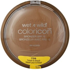 Wet n Wild Color Icon Collection Bronzer SPF 15, Ticket To Brazil [739], 1 ea