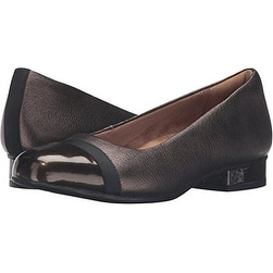 CLARKS Womens Keesha rosa Leather Cap Toe Classic Pumps