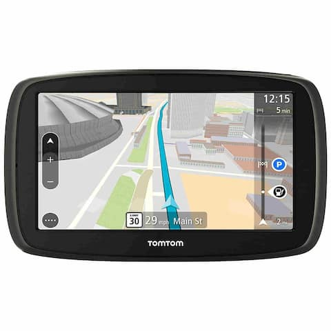 TomTom GO 60 S 6 Inch GPS with Lifetime Map and Traffic Updates - Black