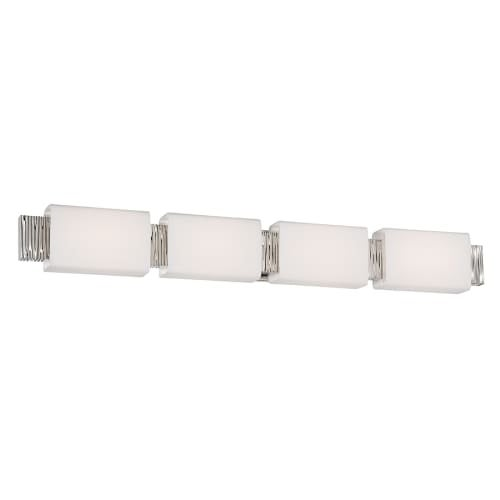 Modern Forms WS-45541 Aegean 4 Light LED ADA Compliant Bathroom Vanity Light - 40.5 Inches Wide