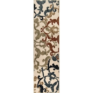 Link to Orian Rugs American Heritage Arabian Damask Off-White Similar Items in Transitional Rugs