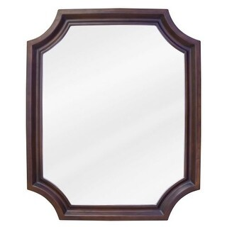 Elements MIR050 Abbott Collection Rounded 22 x 27 Inch Bathroom Vanity Mirror