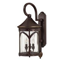 """Hinkley Lighting 2314-LED 24.5"""" Height LED Outdoor Lantern Wall Sconce from the Lucerne Collection - copper bronze - n/a"""