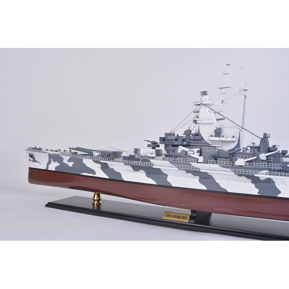 Vintage Pennant USS Alabama BB-60