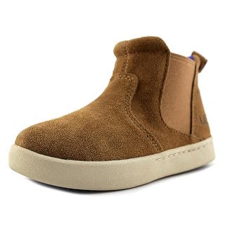 Ugg Australia Hamden Round Toe Suede Bootie (Option: 13)|https://ak1.ostkcdn.com/images/products/is/images/direct/85956f7ed9be9eb7b1c4ffca85aa36776678d209/Ugg-Australia-Hamden-Youth-Round-Toe-Suede-Tan-Bootie.jpg?impolicy=medium