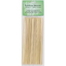"HIC 4414 Bamboo Skewers, 10"", Set of 100"