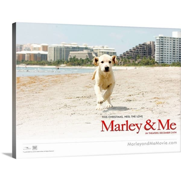 Shop Marley And Me 2008 Canvas Wall Art Overstock 24129723