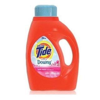 Tide 13844 Liquid Laundry Detergent, April Fresh Scent, 50 Oz