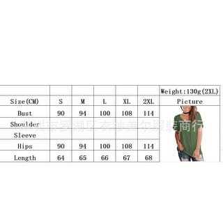 Link to 2019 New Women's Front Chest Pocket V-Neck Short-Sleeved Loose T-Shirt Similar Items in Women's Plus-Size Clothing
