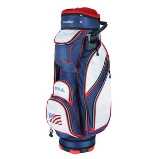 Powerbilt TPS 5400 USA Flag Cart Golf Bag