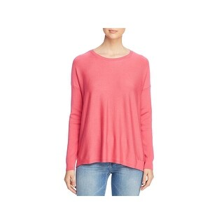 EILEEN FISHER Womens Pink Long Sleeve Crew Neck Top  Size S