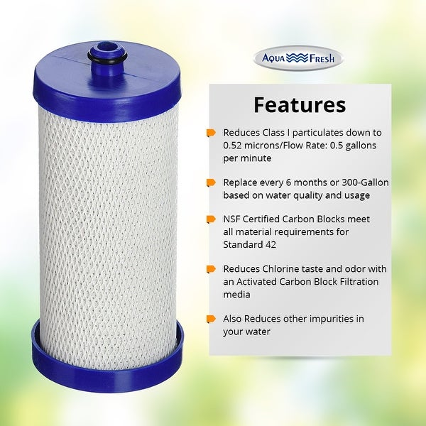 Refrigerator Water Filter for Frigidaire FRS6R5ESBE