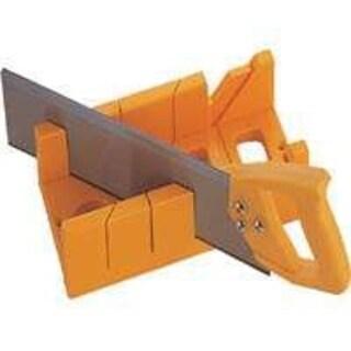"""Mintcraft JL424023L Plastic Mitre Box with Saw, 12"""""""
