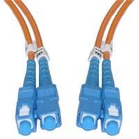Fiber Optic Cable  SC  SC  Multimode  Duplex  62.5-125  3 meter (10
