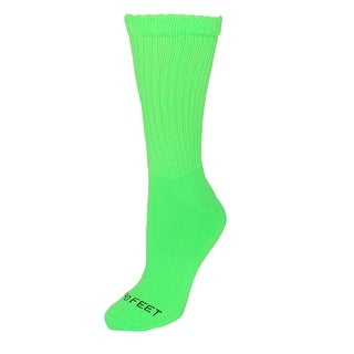 Pro Feet Men's Neon Athletic Crew Socks
