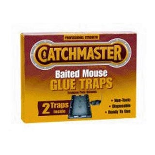 Catchmaster 102 Baited Mouse Glue Traps 2/Pack