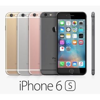 Apple iPhone 6S 64GB Factory Unlocked 4G LTE Phone (AT&T Verizon T-Mobile) w/12MP Camera