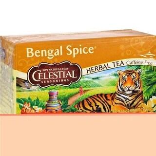 Celestial Seasonings - Caffeine Free Bengal Spice Herbal Tea ( 6 - 20 BAG)