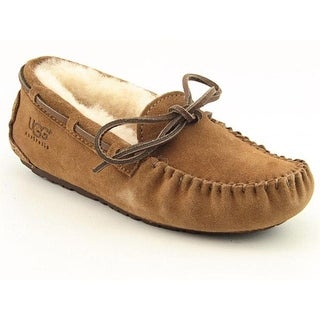 Ugg Australia Dakota Youth Moc Toe Suede Brown Slipper