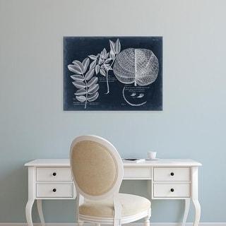 Easy Art Prints Vision Studio's 'Foliage on Navy I' Premium Canvas Art