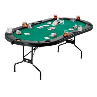 Fat Cat Folding Texas Hold 'Em Table / 64-2039